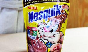 Какао Несквик с молоком для беременных