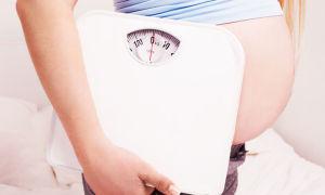 Графики набора веса беременных по неделям