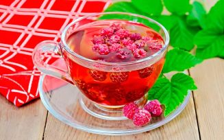 Малиновый чай для беременных