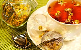 Ромашковый чай для беременных