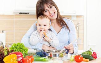 Продукты, которые можно кушать кормящей маме