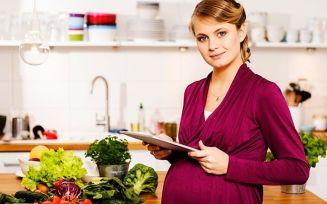 Вегетарианство для беременных