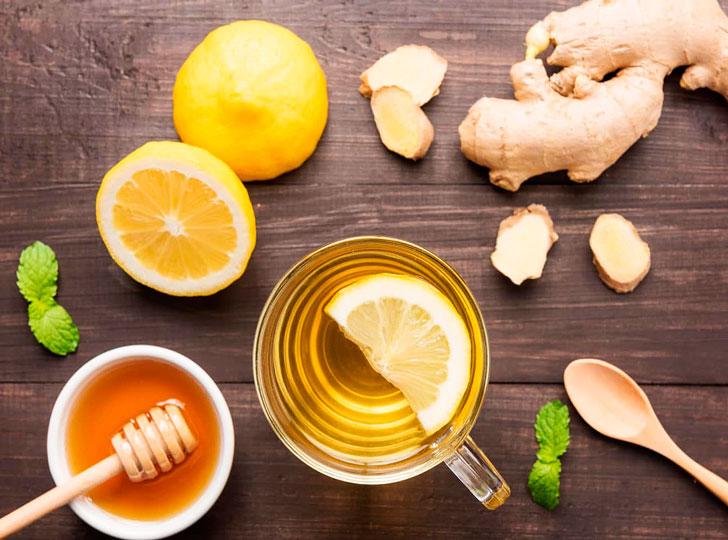 Имбирный чай с лимоном для беременных